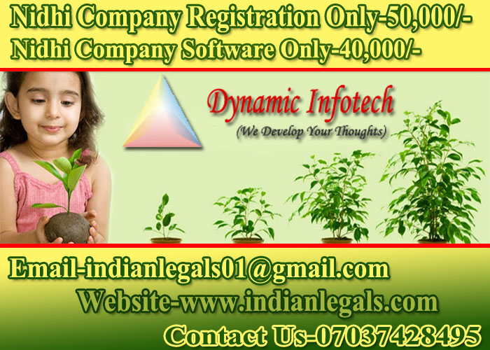 Image for Nidhi Company Registration Is 100% Online In Bareilly Rs.50,300