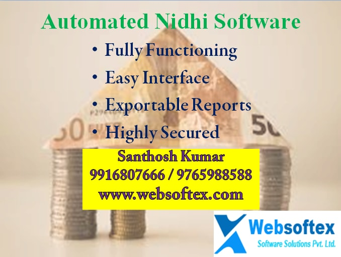Image for Automated Nidhi Software for your Nidhi Company