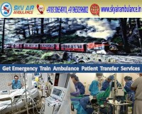 Image for Get Quick Medical Care Sky Train Ambulance Service in Patna
