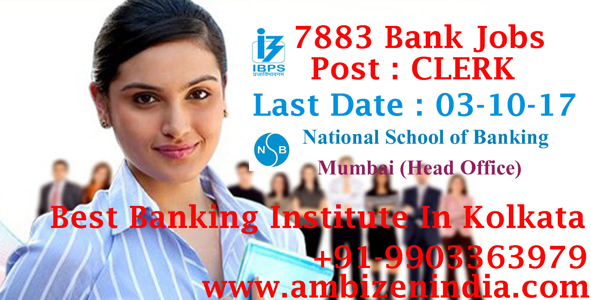 Image for Fresh Vacancies. IBPS(Institute of Banking Personnel Selection).