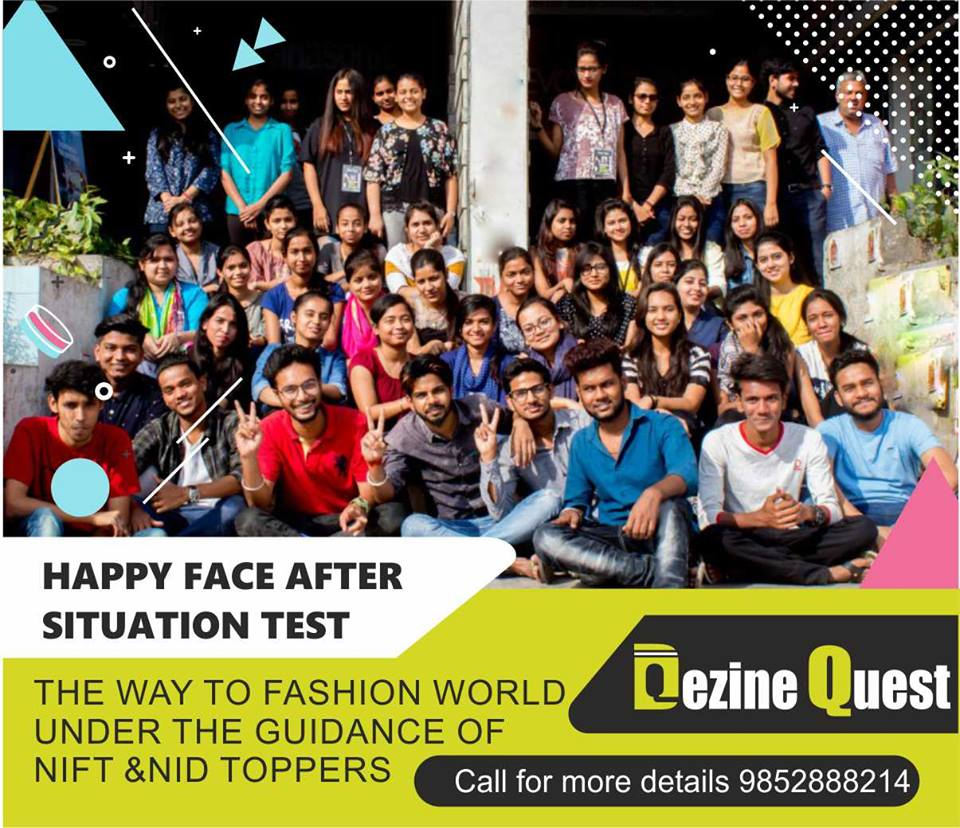 Low Free Structure NIFT Coaching in Patna by Dezine Quest