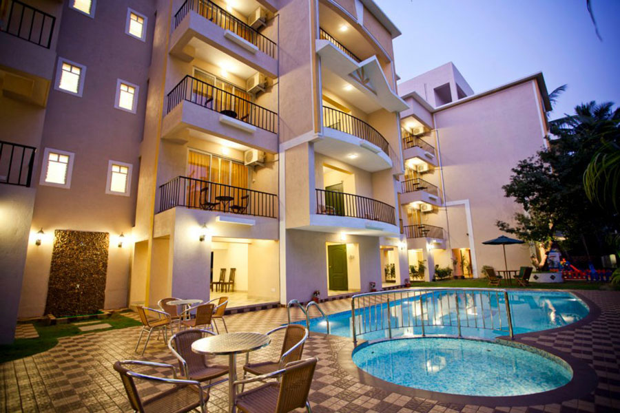 South Goa apartment hotels