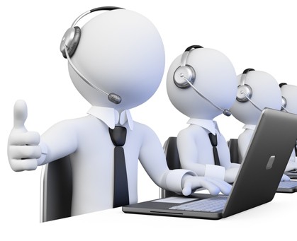 We have Voice as well as Non-voice process available!!