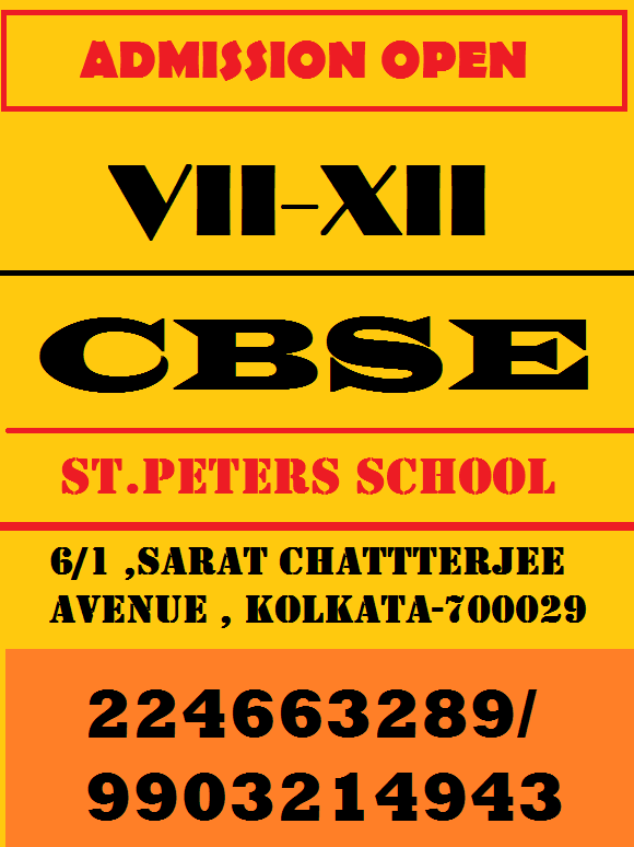 Image for Admission Going on in St .Peter's School.(CBSE)