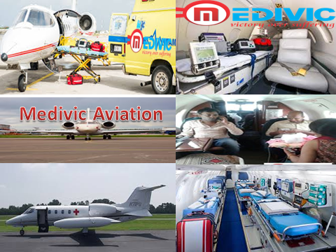 Air Ambulance Service in Nagpur by Medivic Aviation