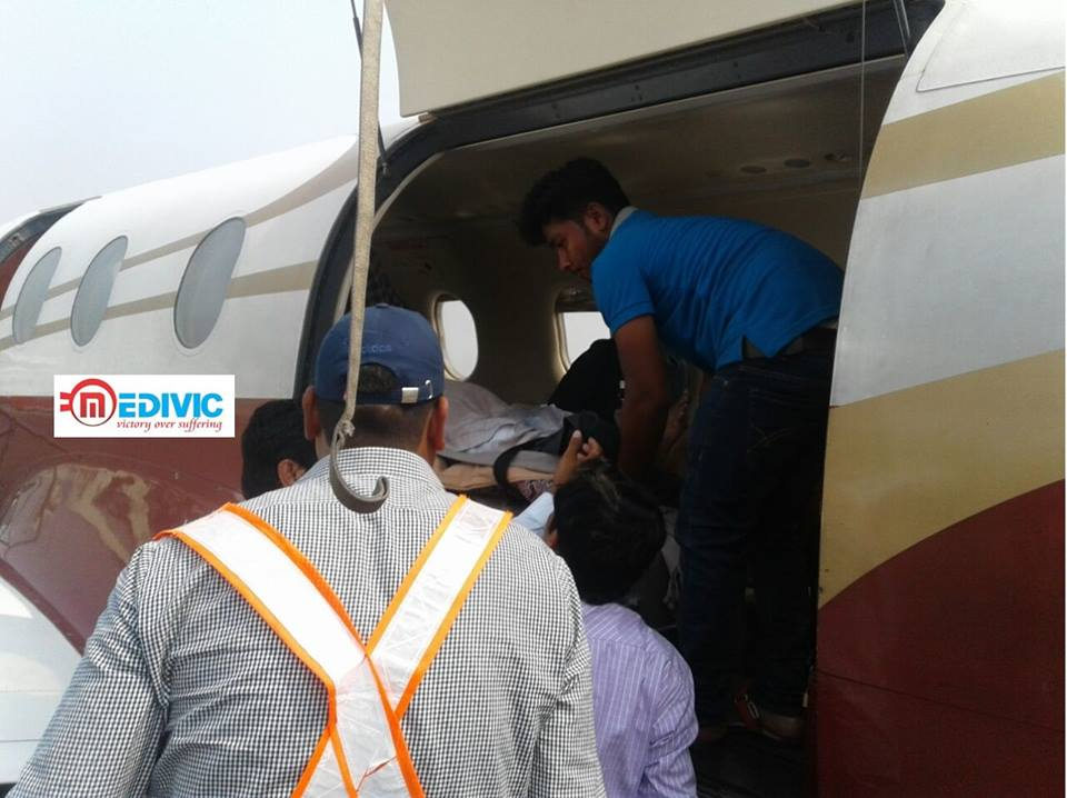Medivic Aviation Air and Train Ambulance Service in Bokaro