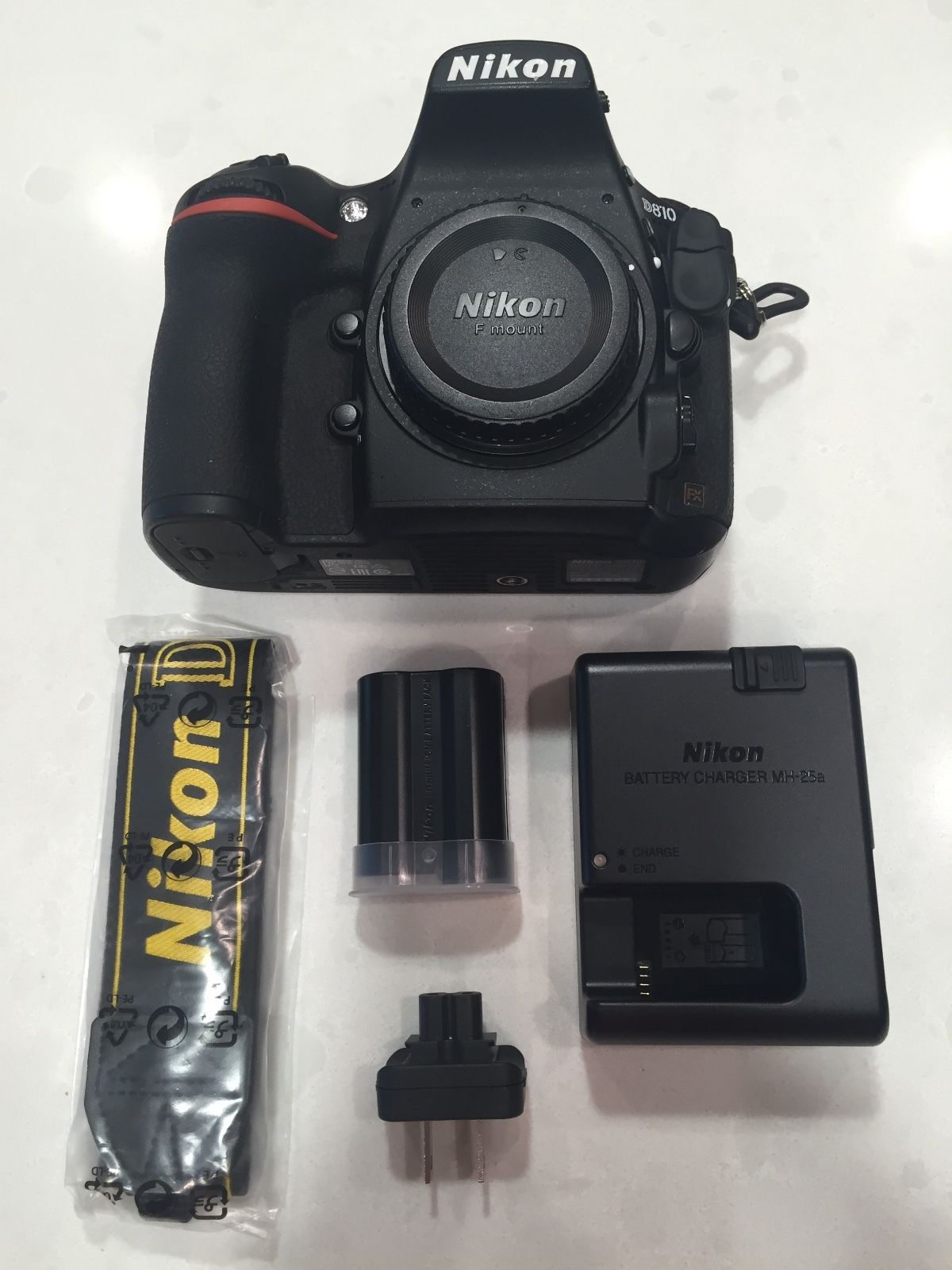 Image for Nikon D810 36.3 MP DSLR camera with 24mm f/1.4G ED for sale