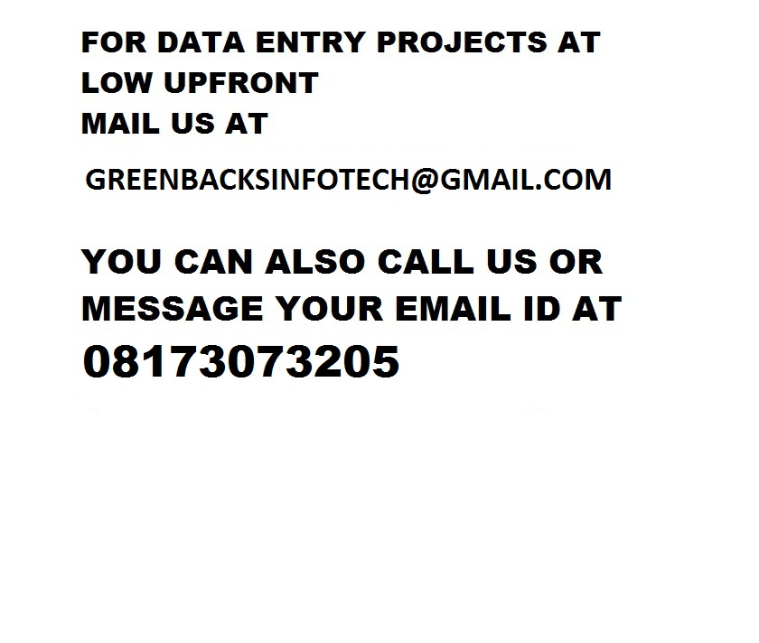 Image for 08173073205 Form filling projects without deposit
