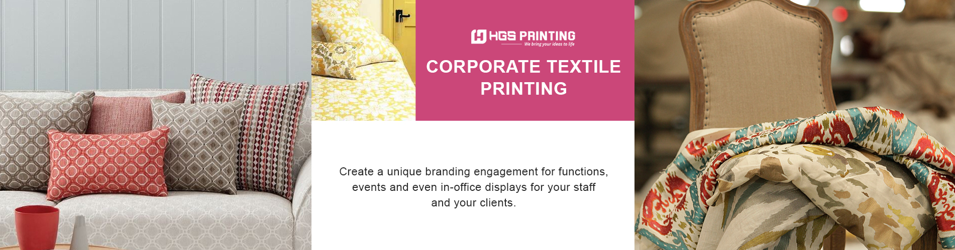 Image for Digital textile printing services