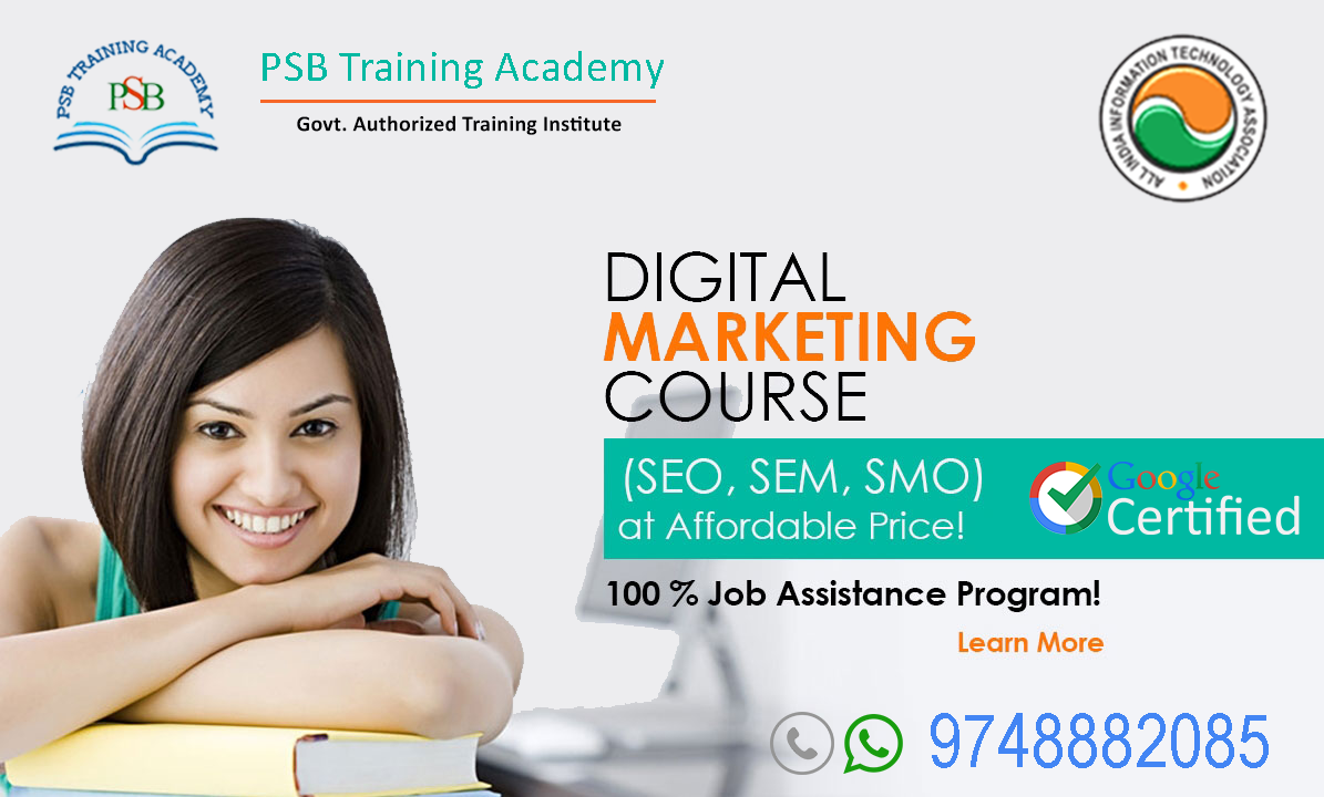 Digital Marketing Training with Job placement