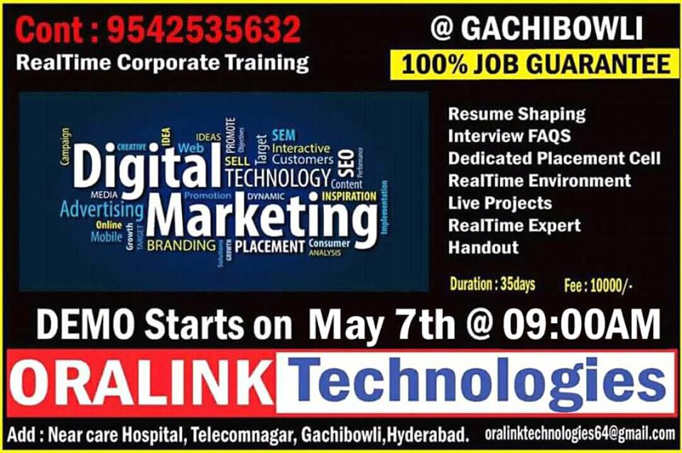 Image for Real Time Corporate Training Institute in Hyderabad