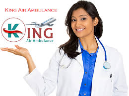 King Air Ambulance ICU Services in Bhopal with Doctors Team