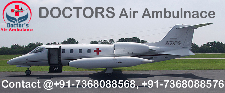 Get Air Ambulance Service in Nagpur with Full ICU Setup