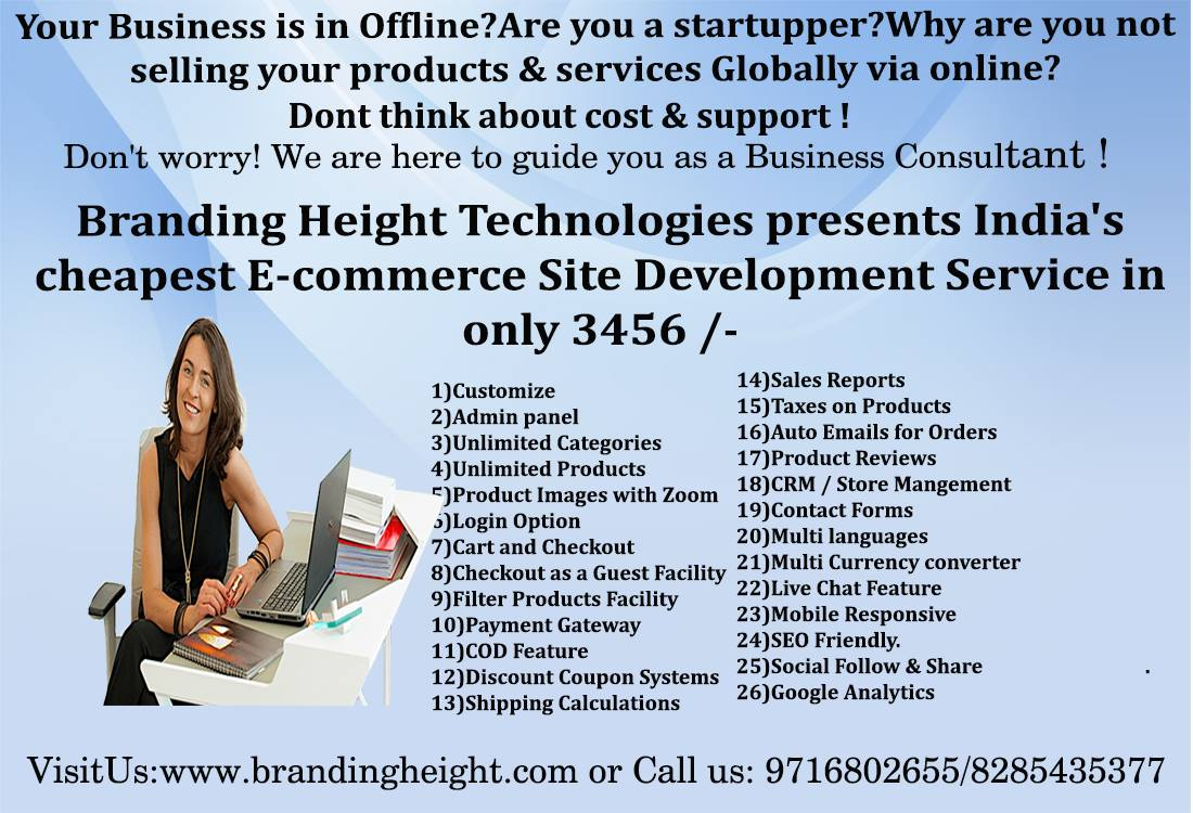 Image for Develop Your Ecommerce Website in Just 3456/-