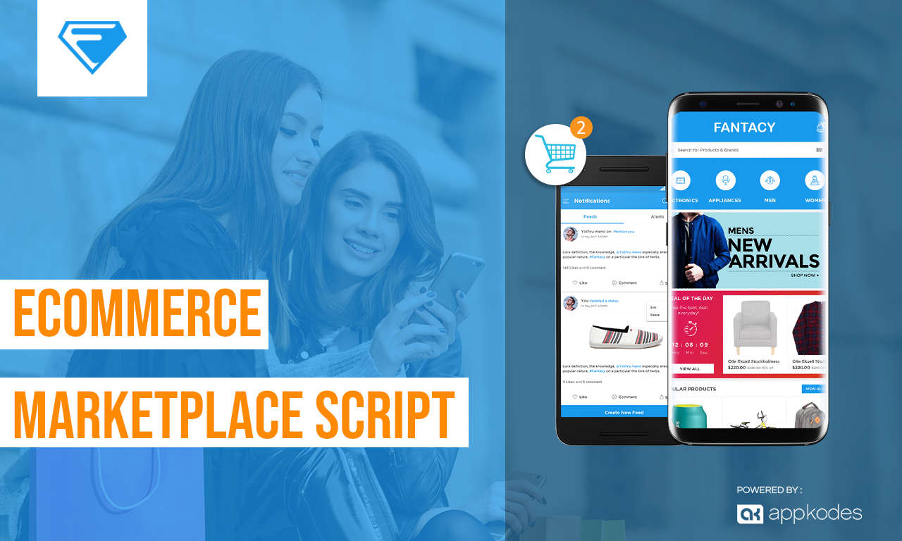 Best Choice for Buyers & Seller Ecommerce Marketplace Script