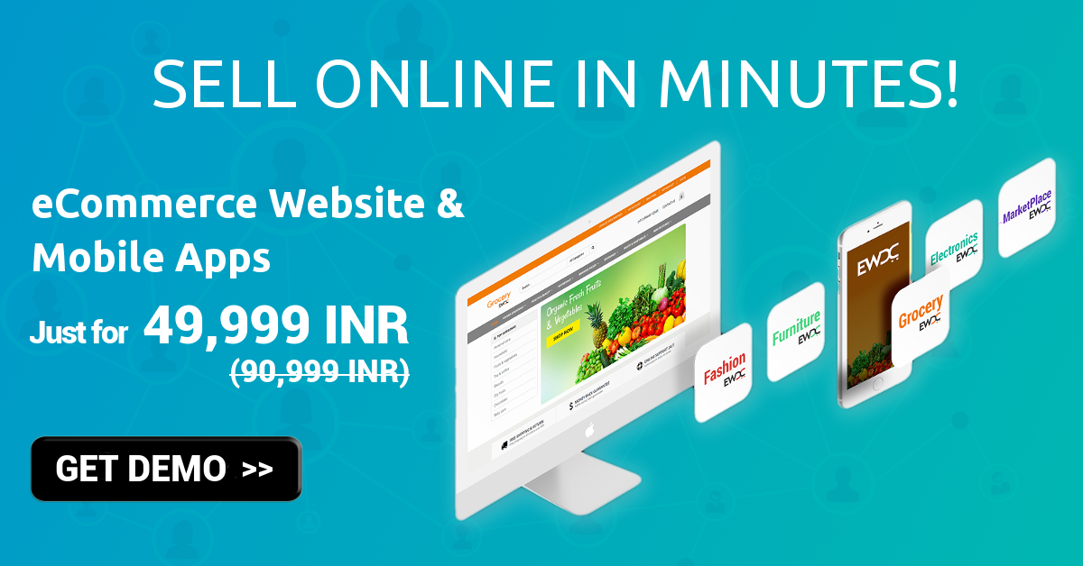 Image for Launch your Grocery eCommerce Store for Rs.49999 only