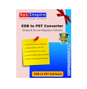 Image for SysInspire EDB to PST Converter Software