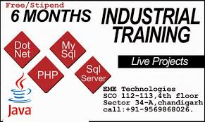 # android industrial training in chandigarh