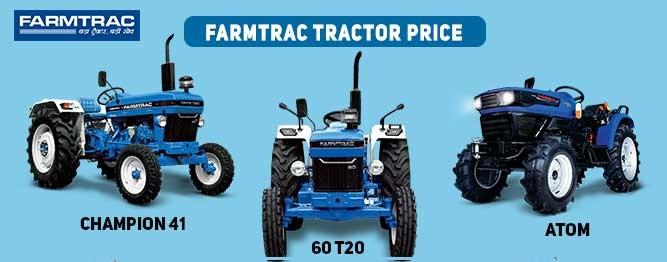 Farmtrac Tractor Price list India