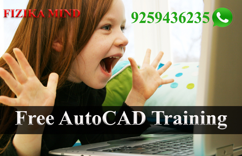 Image for Free AutoCAD Training in Bareilly by FIZIKA MIND