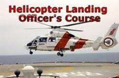 Helicopter Landing Officer(HLO)
