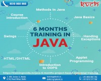 Image for BEST JAVA 6 WEEKS PROJECT SUMMER TRAINING NOIDA