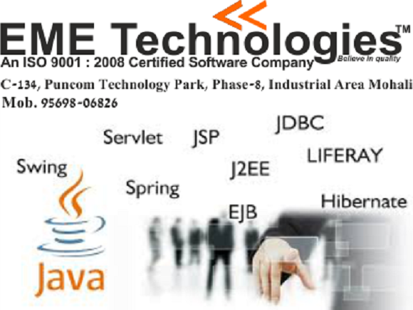 Core java Industrial Training In Chandigarh