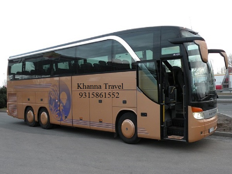 Khanna Travel: Rental Bus Traveler Service in Delhi-NCR