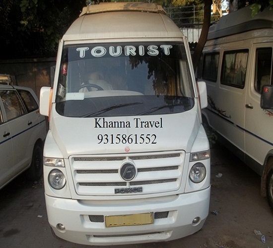Get Bus, Mini-Bus & Car for Travel on Rent in Delhi