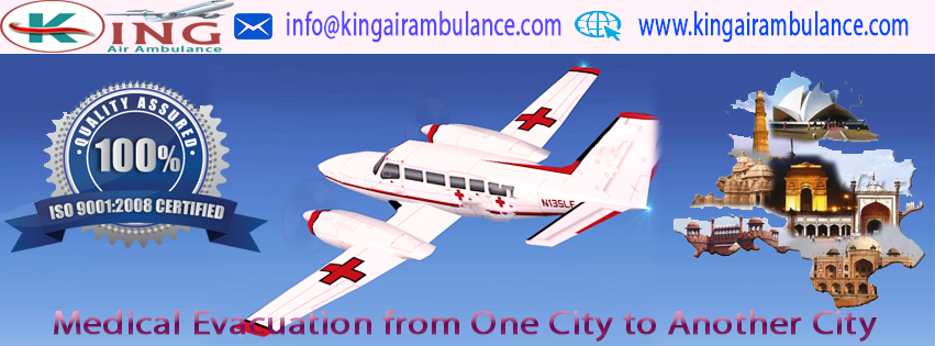 Cost of Air Ambulance from Kolkata to Chennai by King Ambulance