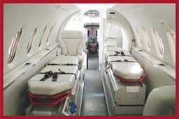 King Air Ambulance services in Siliguri with Medical facilities