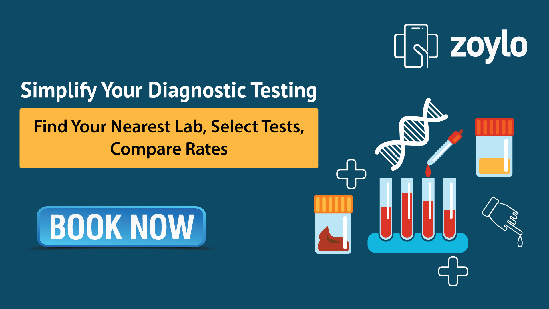 Book Lab Test Online and Save Your Time