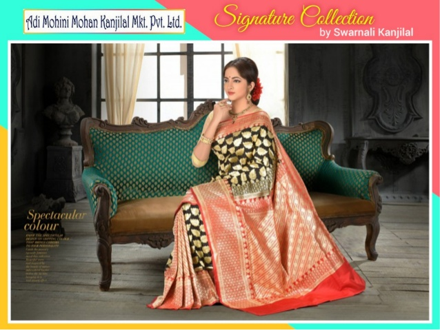 Image for Silk Sarees online shopping with huge discounts | AdiMohiniMohanKanjil