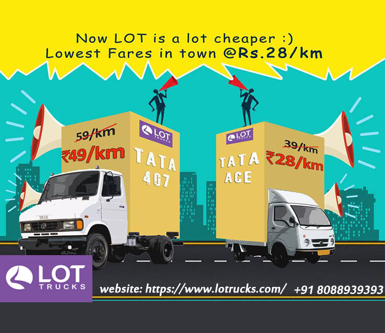 Image for India's Largest Mini Truck Rental - Lotrucks.Com