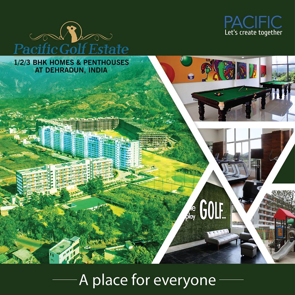 Luxury Apartments in Dehradun - Pacific Golf Estate