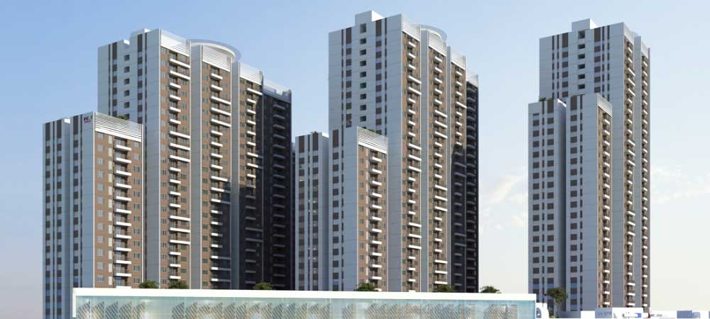 INCOR ONE CITY Construction By TATA PROJECTS Hi-tech City Road, KPHB,