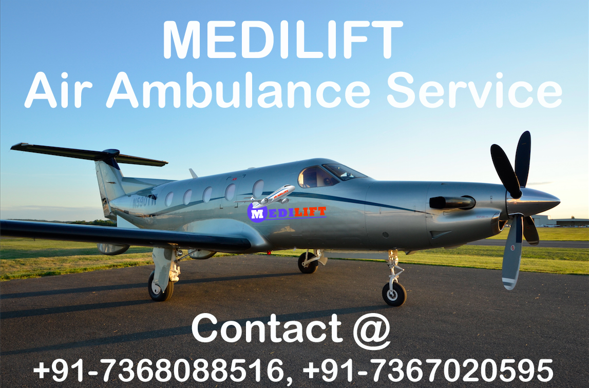 Get an Economical Fare Air Ambulance Service in Guwahati