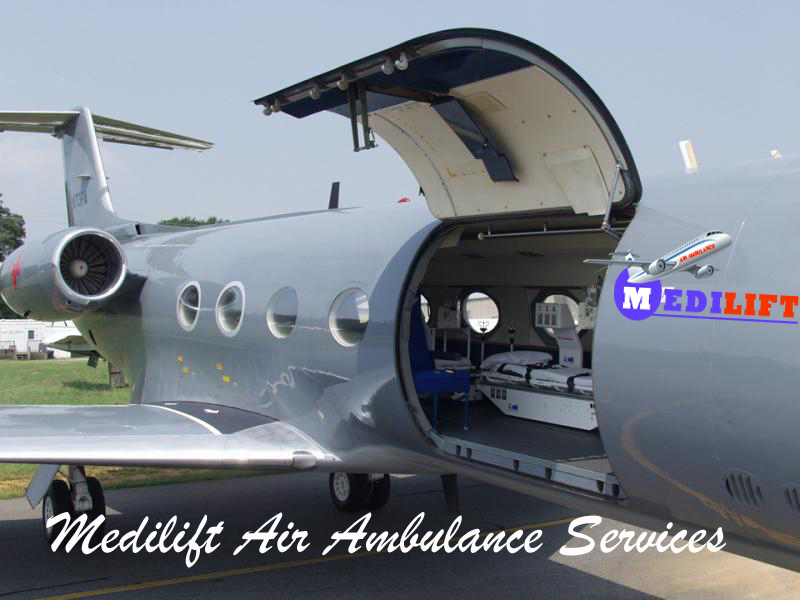 Get a Quick Air Ambulance Service in Gorakhpur by Medilift
