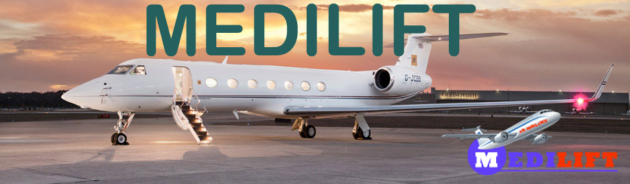 Get Immediate Air Ambulance Service in Patna by Medilift in Low Cost
