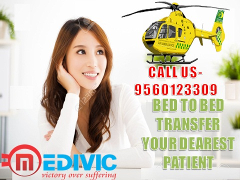 Charter Air Ambulance Service in Lucknow –Medivic Aviation Air Ambulan