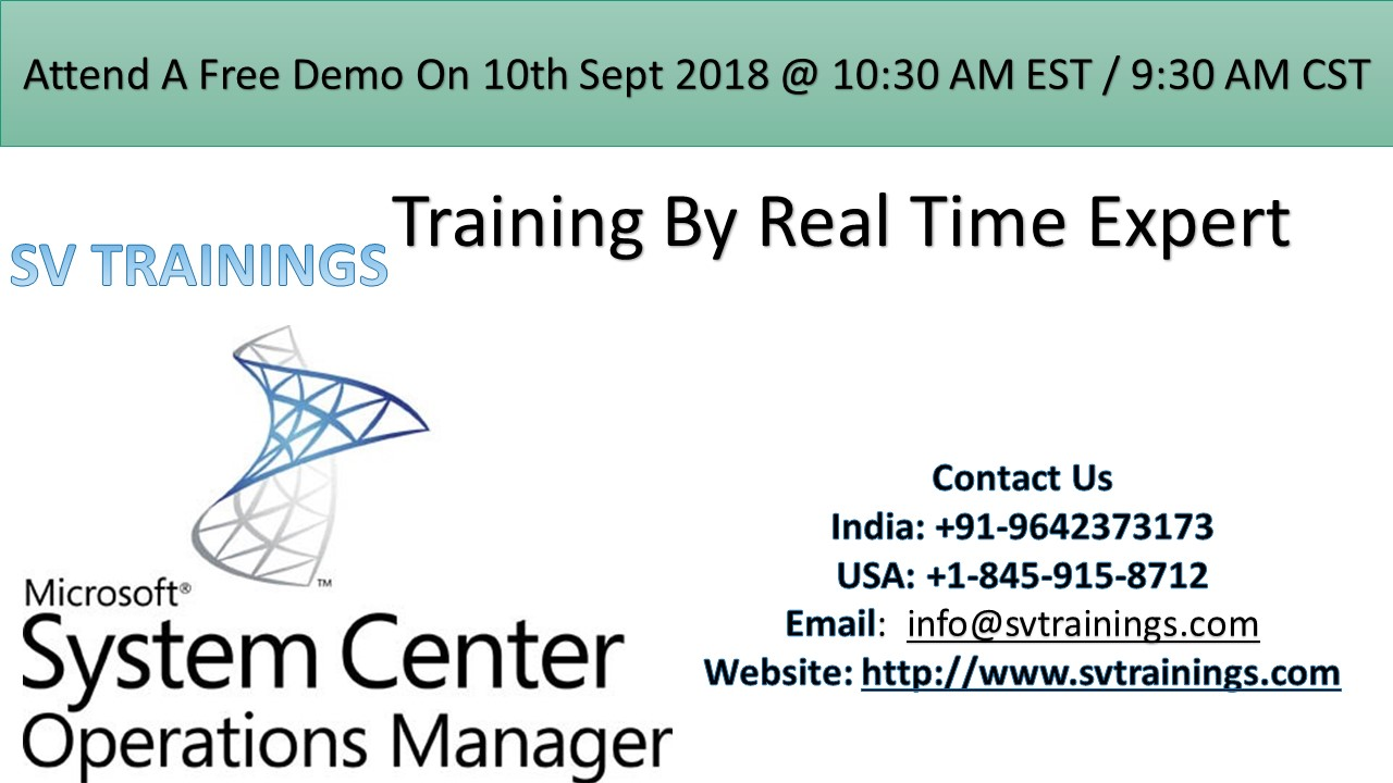Image for SCCM Course Free Demo