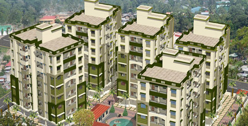 1759 sq.ft flat with covered parking in your city new town kolkata