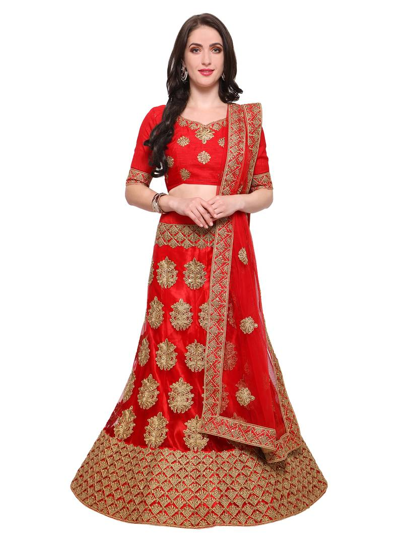 Amazing Collection of Net Lehengas at Mirraw | Affordable Prices