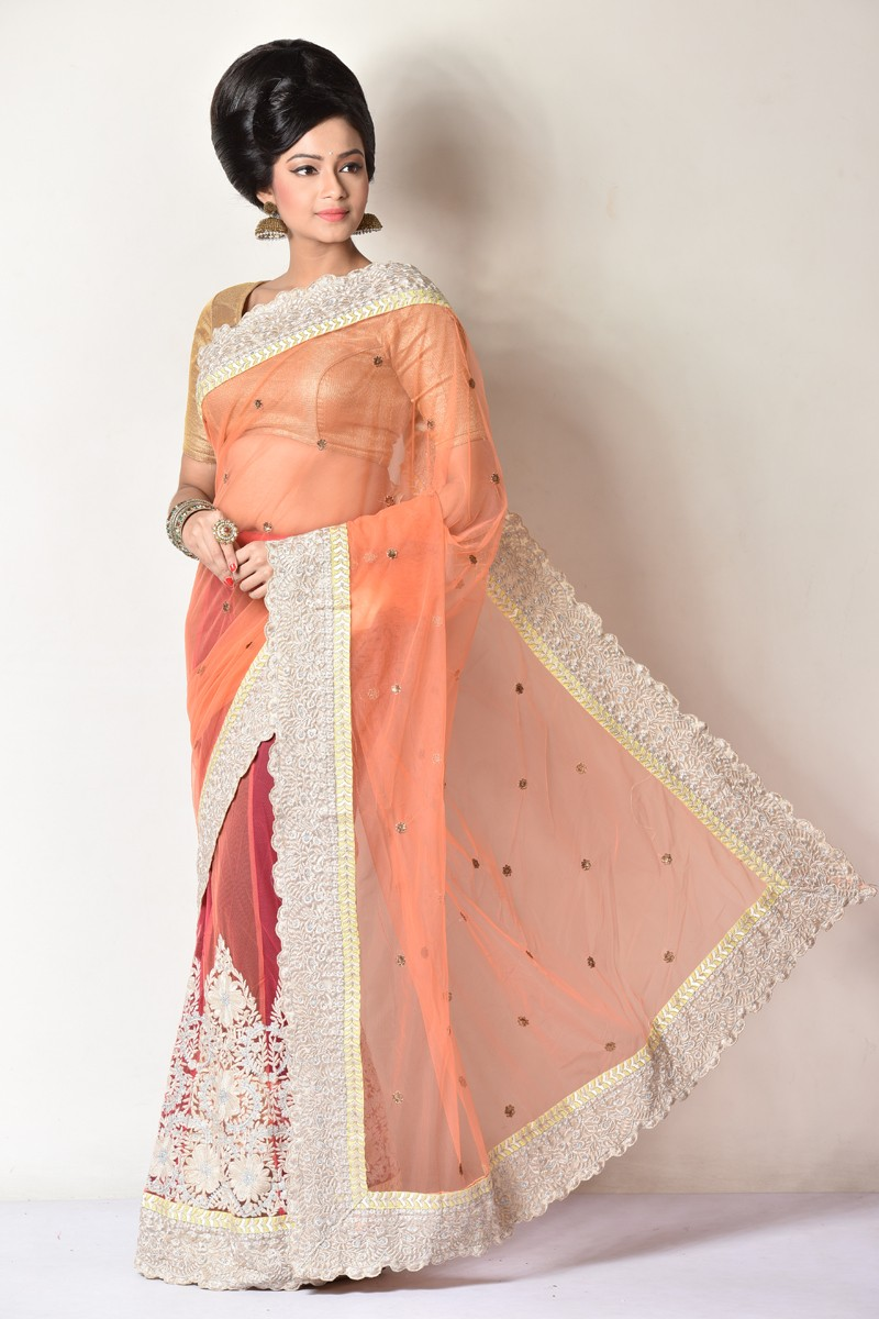 Image for Buy the best ever Bridal Banarasi Saree online From AdimohinimohanKanj