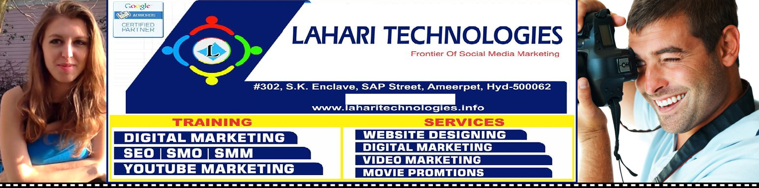 Image for Website Design - Facebook Likes - Promotional Video Ads - Lahari Techn