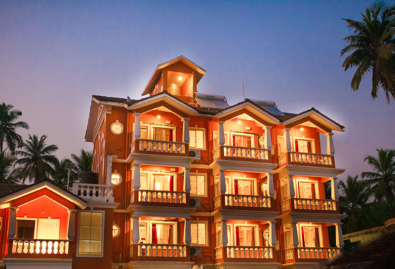 Goa hotels rates near beach