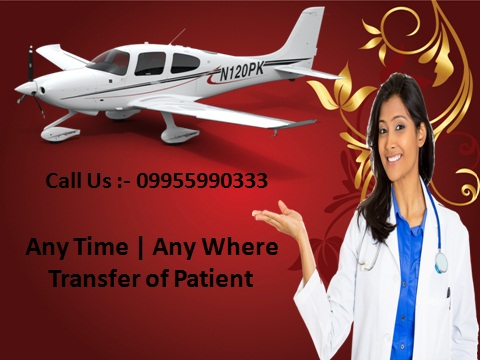 Panchmukhi Air Ambulance Service in Mumbai at Low Fare