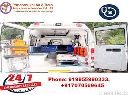 Contact with Panchmukhi Ambulance Service in Dwarka