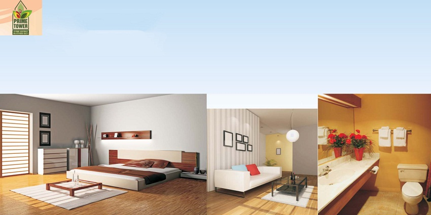 Deluxe residential apartment at Ajnara Prime Tower. Call 9250001807