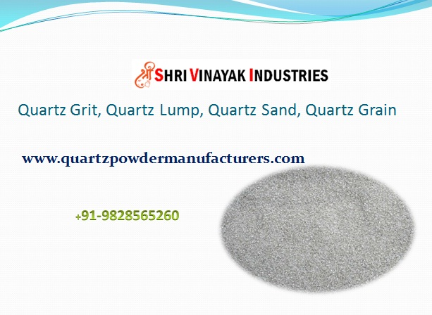 Leading Supplier of Quartz Powder/ Grit in India Saudi Arabia